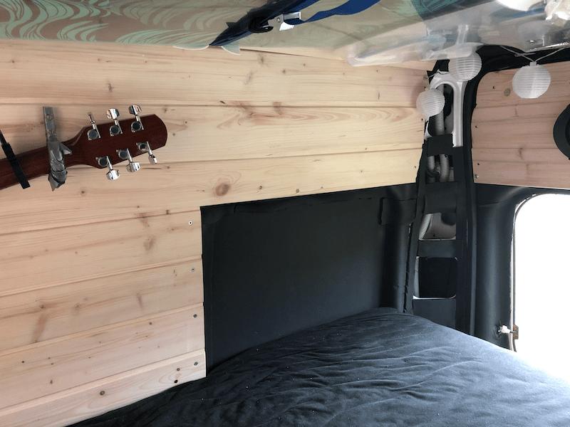 Ducato Wandverkleidung Holz Fenster Einbau
